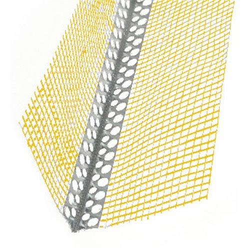 Narożnik aluminiowy z siatką żółtą 3,0mb
