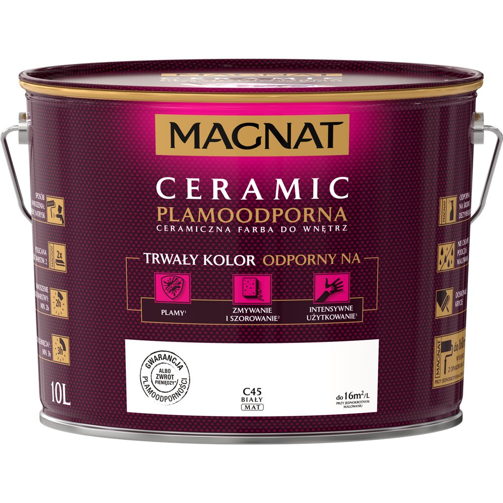 MAGNAT CERAMIC Farba C45 Biały 10L