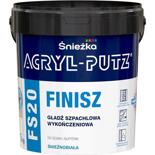 Śnieżka Acryl Putz FINISZ FS20 Gotowa Gładź szpachlowa 1,5kg