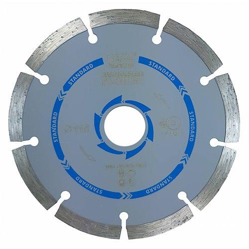 K2 Tarcza Diamentowa Segmentowa 115mm